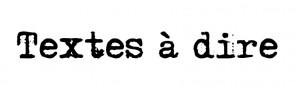 logo textes à dire-001