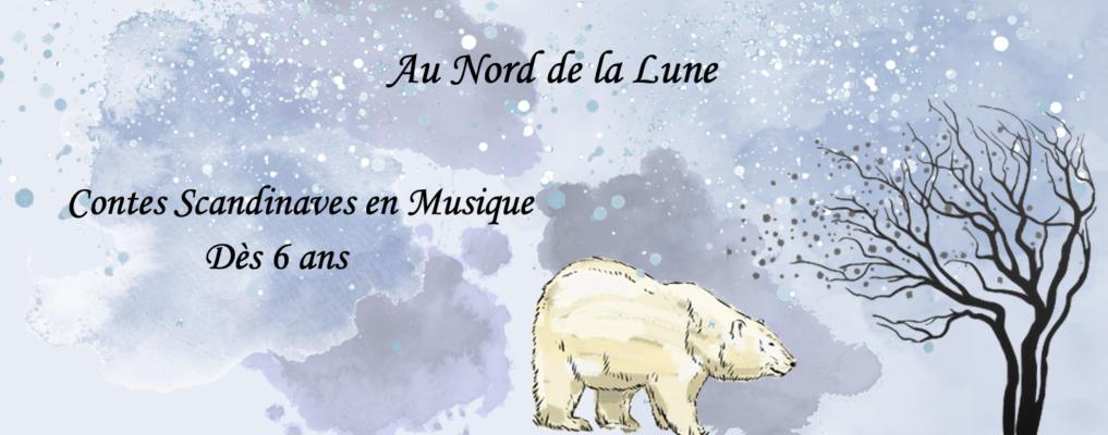 """Image pour le spectacle """"Au Nord de la Lune"""""""